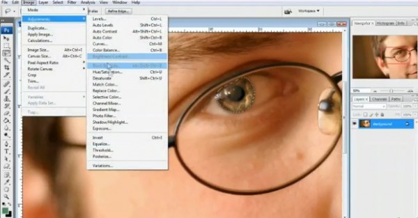 Photoshop Teeth Whitening and Eye Enhancement