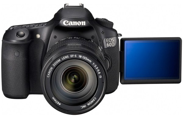 Canon 60D HDSLR: 18 MP, 1080p, Flexible Screen