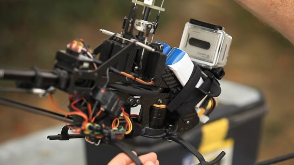 GoPRO Hero Attached to RC Helicopter