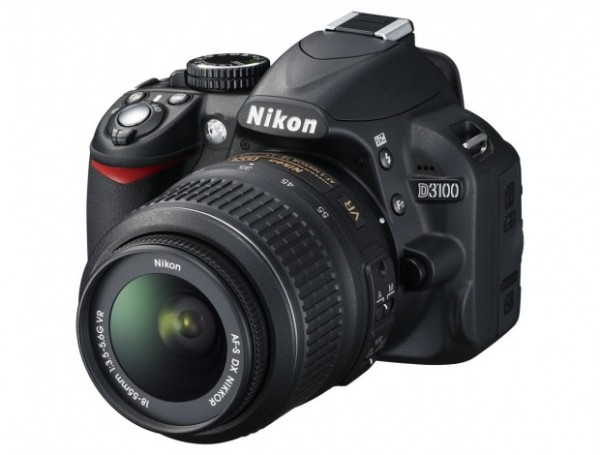 Nikon D3100 Latest HDSLR: Autofocus, 1080p Video, $700