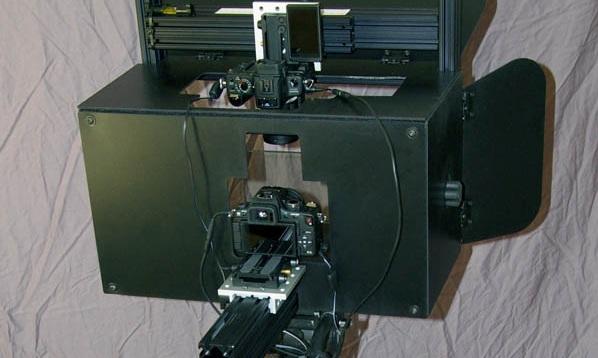 Panasonic GH1 3D Rig