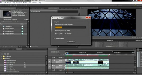 Footage Edited off of Memory Card with Adobe CS5