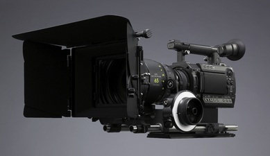 Sony is seeing RED with their new PMW-F3K large sensor camera