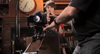 Cinevate demonstrates their new Pegasus Carbon Slider System