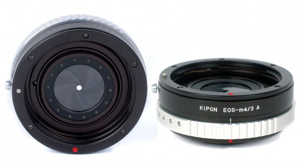 Canon EOS-Micro 4/3 Adapter with Aperture Control