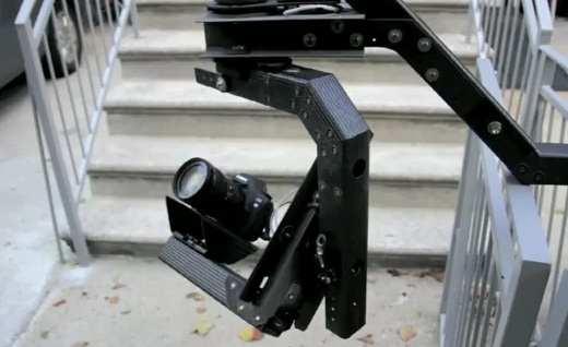 Handheld Remote Head for HDSLR Shooting