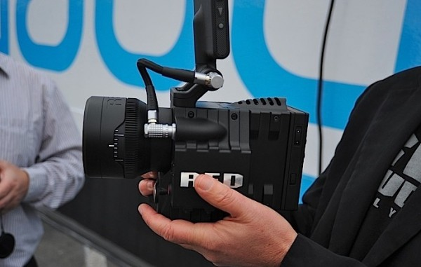 Working RED Scarlet shown at CES