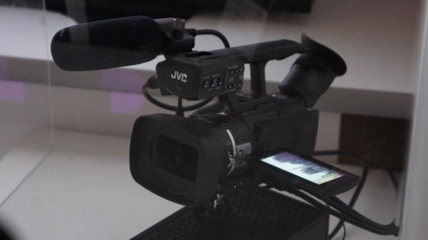 JVC demos new 4K Pro Camcorder