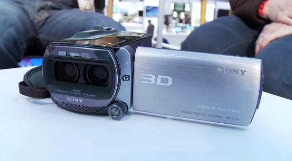 New consumer 3D camcorders from Sony and JVC