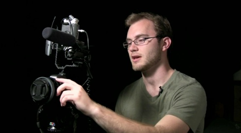 DSLR Rig for Shooting Video Interviews