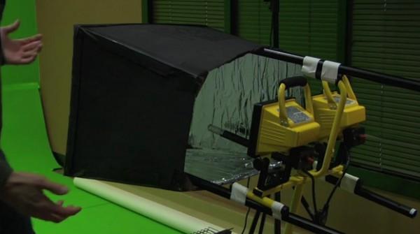 DIY Softbox for Video Lighting