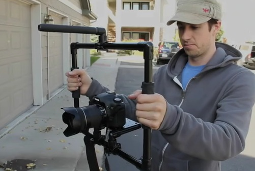 DIY Video Camera PVC Fig Rig