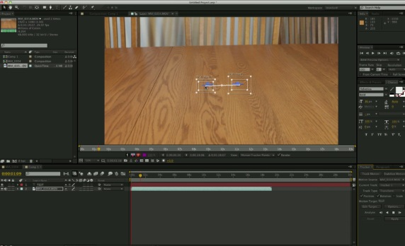 After Effects Tracker Controls Tutorial