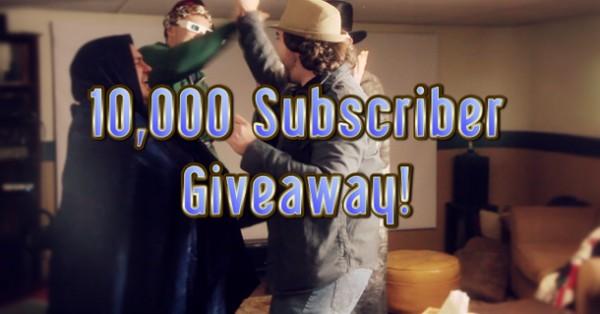 10,000 Subscriber Giveaway – Winners!