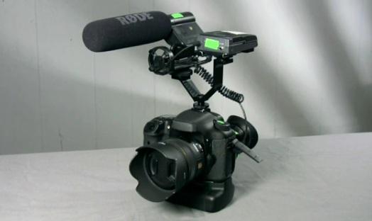Video Camera Cold Shoe Bracket Mounts