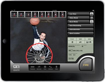 DSLR Camera Remote HD for the iPad