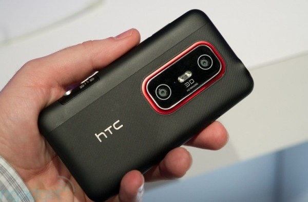 HTC Evo 3D, first cell phone to shoot 720p 3D video [UPDATE]
