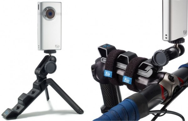 Mount Your Small Camera Anywhere With the Flip Video Action Tripod