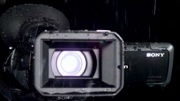 Sony HXR-NX70, the first rain and dust proof compact video camera