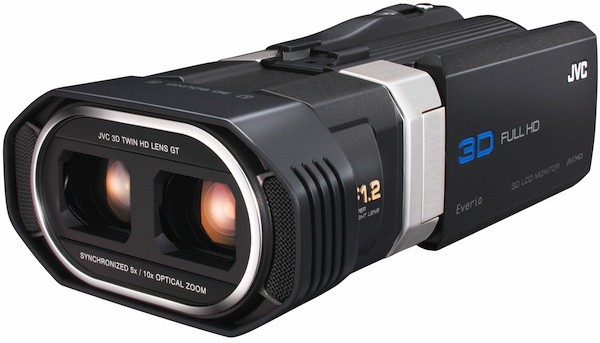 JVC GS-TD1 Full HD 3D Everio Camcorder for $1700