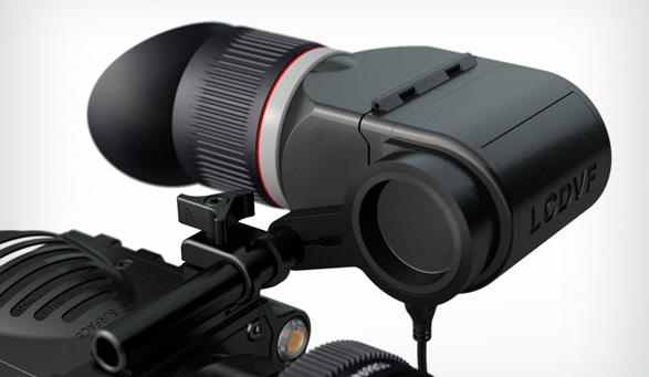 LCDVFe, new electronic viewfinder for DSLR and other video cameras