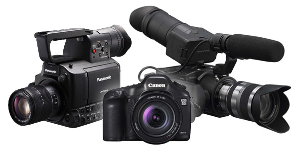Which large sensor video camera should you choose? AF100 vs. FS100 vs. HDSLR