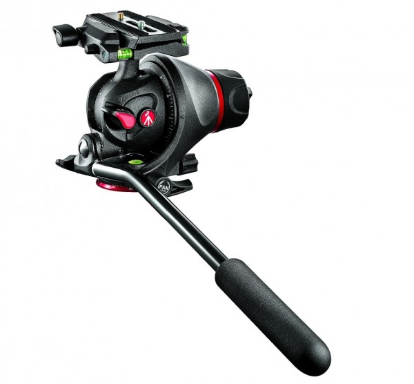 Manfrotto 055 Hybrid Head Q5, new tripod head for photo and video
