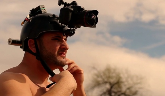 Stillmotion rigs up HDSLR helmet cam for POV NFL player video