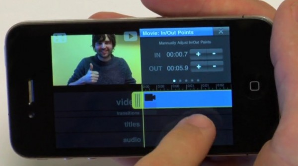 Vimeo app for the iPhone lets you view, edit and upload videos