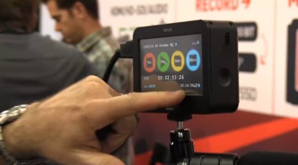 NAB 2011: Atomos Ninja and Samurai, 10bit uncompressed field recorder and monitor
