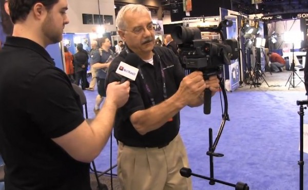 NAB 2011: Blackbird camera stabilizer