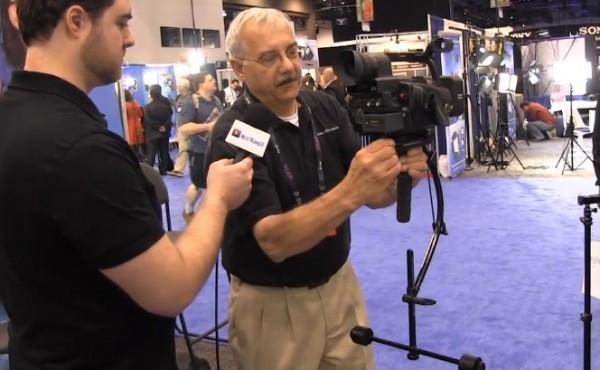 NAB 2011: Blackbird camera stabilizer