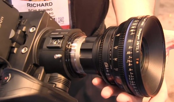 NAB 2011: Zeiss CP.2 E-mount and micro 4/3 adapters