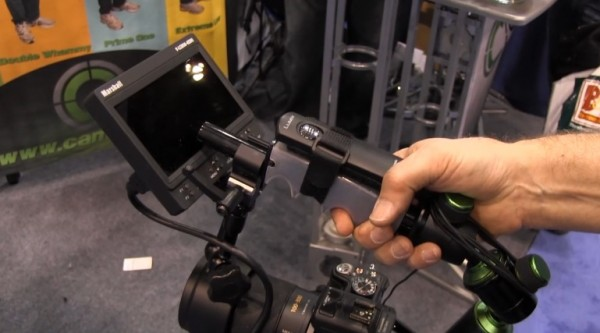 NAB 2011: Camtrol adjustable camera rigs