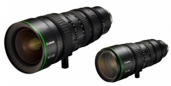 Canon announces two PL-mount 4K cine zoom lenses