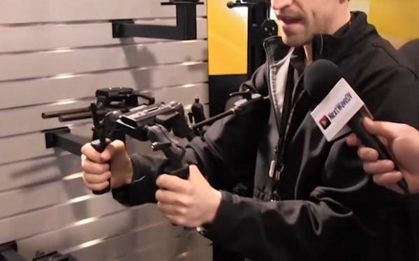 NAB 2011: Cinevate Atlas 10 FLT, Simplis, Proteus Grip Sticks
