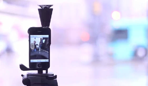 GoPano Micro brings 360 degree, panoramic video recording to the iPhone 4