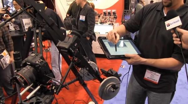 NAB 2011: Kessler Crane computer based keyframe motion control system