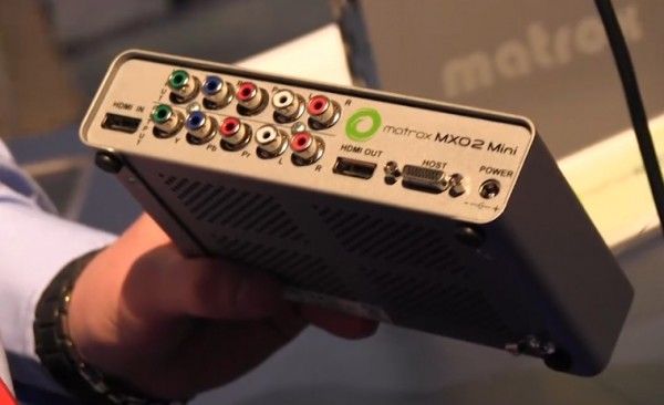 NAB 2011: Matrox MXO2 I/O and H.264 encoder