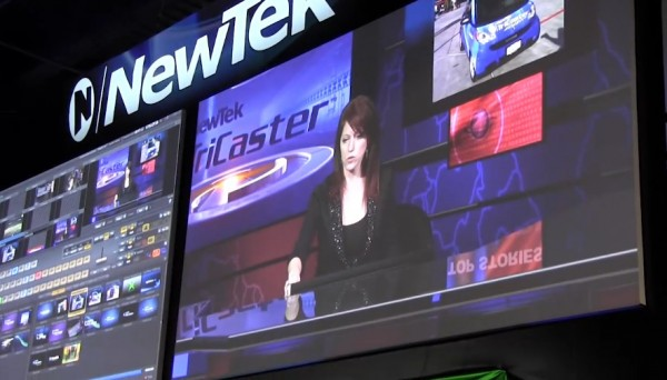 NAB 2011: NewTek Tricaster support for Apple Airplay with iPhone and iPad