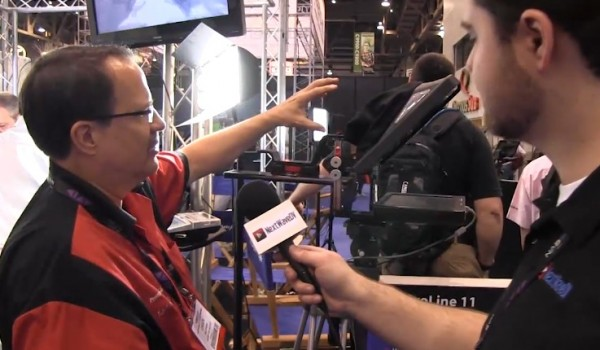 NAB 2011: Flo Light LED lighting & Prompter People teleprompters