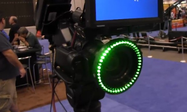 NAB 2011: Reflecmedia green screen LED technology for photo and video