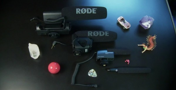 Microphone comparison of mini-shotguns for DSLR video