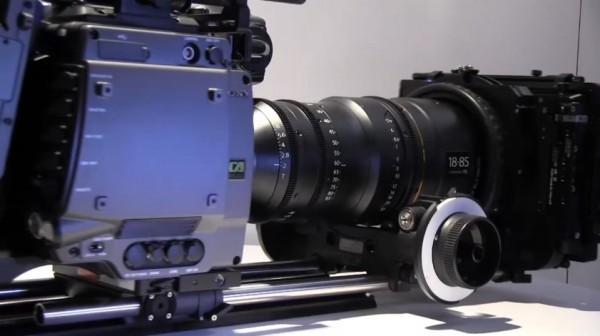 NAB 2011: Sony F65 4K digital cinema camera with 8K sensor