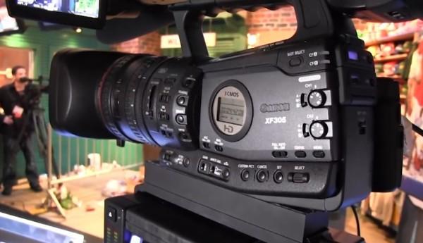 NAB 2011: Canon XF300/305, XF100/105, XA10 camcorders