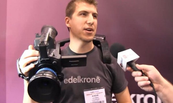NAB 2011: edelkrone transforming camera shoulder rigs