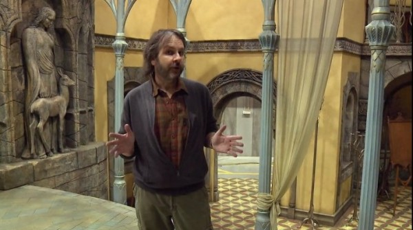 Peter Jackson's First Video Blog On The Hobbit Production