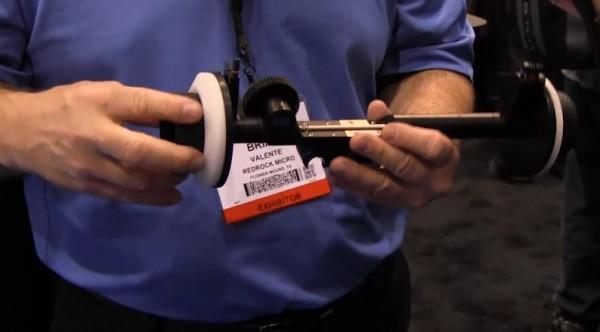 NAB 2011: Redrock Micro microFollowFocus Blue, micro3D rig, micro 4/3 EF mount