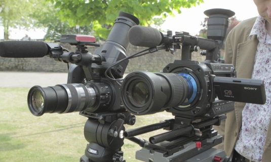Comparison of the Sony F3 and FS100 cameras