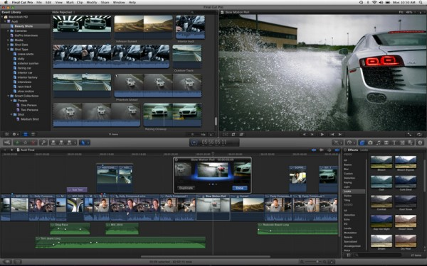 Final Cut Pro X now available in the Apple App Store